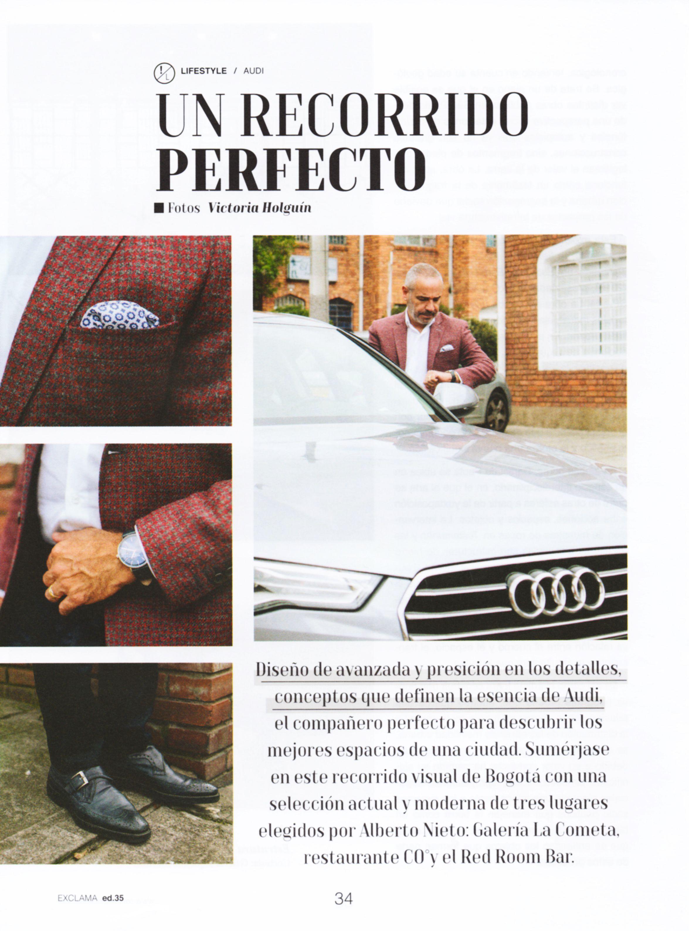 Recorrido perfecto con Alberto Nieto