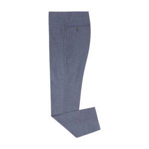 Pantalón azul micro diseño. Tejido Portugués confortable y flexible gracias a la construcción de su tela, prenda exclusiva para nuestra línea Platino.